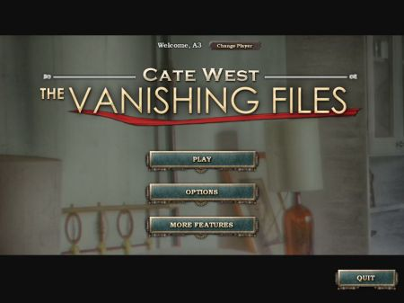 catewest title screen
