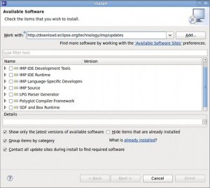 Installing Eclipse Plugin